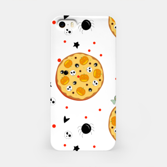 Miniaturka Funny Halloween Pizza Food Lover Gifts Scary Ingredients iPhone Case, Live Heroes