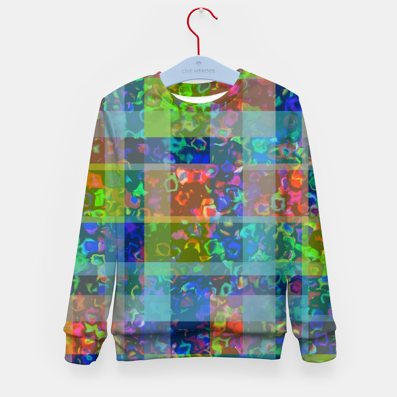 Image of zappwaits - color Kid's sweater - Live Heroes