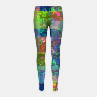 Thumbnail image of zappwaits - color Girl's leggings, Live Heroes
