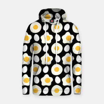 Miniatur Fried Egg Pattern Breakfast Lovers Gift Daisy Flower Hoodie, Live Heroes