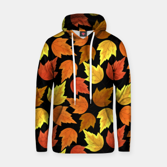Miniatur Fall Leaves Autumn Season Thanksgiving Halloween Gifts Hoodie, Live Heroes