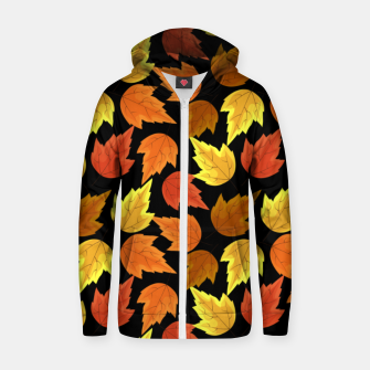 Miniatur Fall Leaves Autumn Season Thanksgiving Halloween Gifts Zip up hoodie, Live Heroes