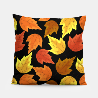 Miniatur Fall Leaves Autumn Season Thanksgiving Halloween Gifts Pillow, Live Heroes