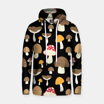 Thumbnail image of Mushroom Types Fungi Foraging Gift Mycology Mycologist Hoodie, Live Heroes