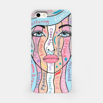 Thumbnail image of Women Empowerment iPhone Case, Live Heroes