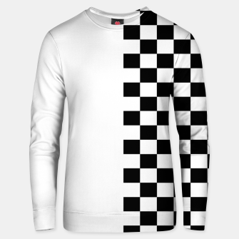 Thumbnail image of Chess Pattern  Unisex sweater, Live Heroes