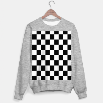 Thumbnail image of Chess Pattern  Sweater regular, Live Heroes
