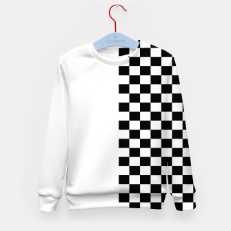 Thumbnail image of Chess Pattern  Kid's sweater, Live Heroes