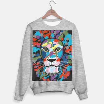 Thumbnail image of Majestic Lion Sweater regular, Live Heroes