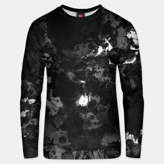 Thumbnail image of splatter Unisex sweater, Live Heroes