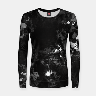 Thumbnail image of splatter Women sweater, Live Heroes