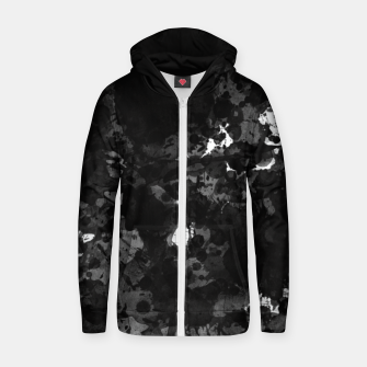 Thumbnail image of splatter Zip up hoodie, Live Heroes
