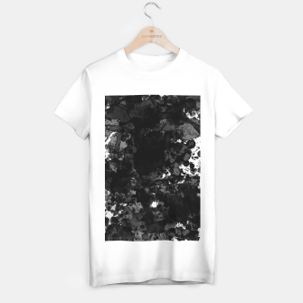 splatter T-shirt regular obraz miniatury