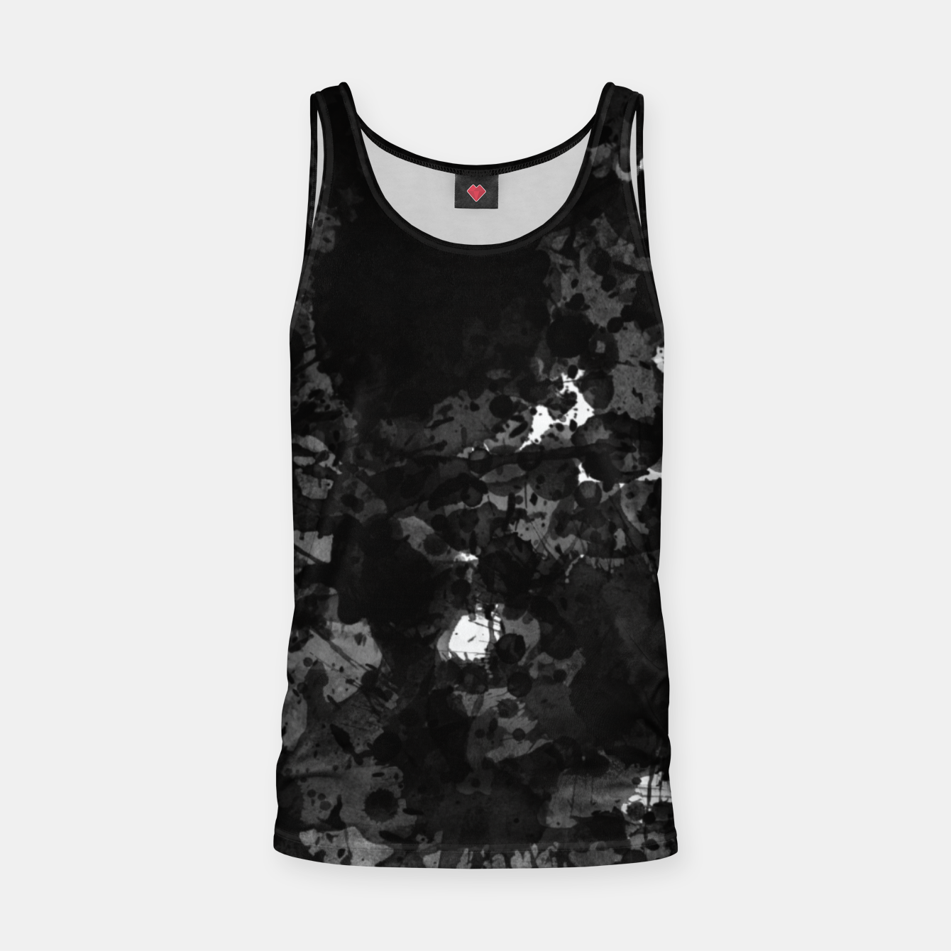 Image of splatter Tank Top - Live Heroes