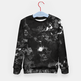 Miniatur splatter Kid's sweater, Live Heroes