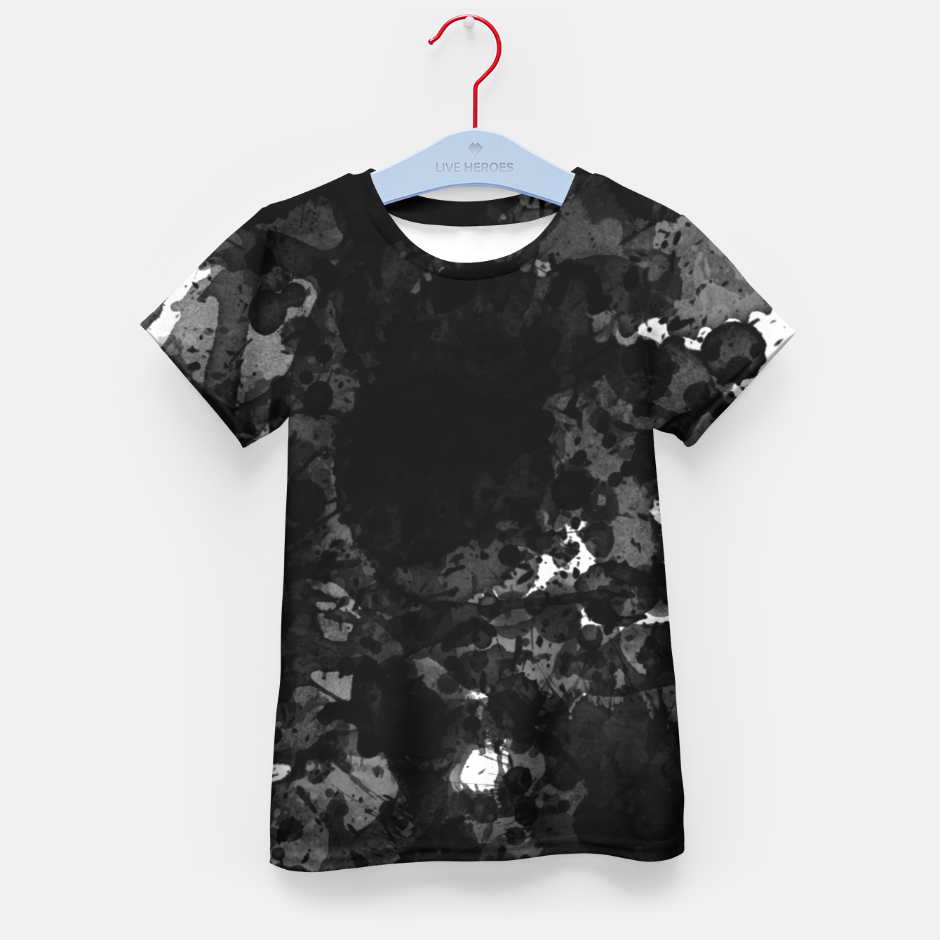 Image of splatter Kid's t-shirt - Live Heroes