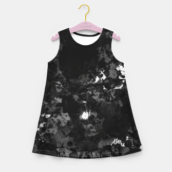 Miniatur splatter Girl's summer dress, Live Heroes
