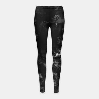 Thumbnail image of splatter Girl's leggings, Live Heroes