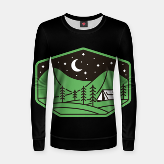 Thumbnail image of Green Camp Women sweater, Live Heroes