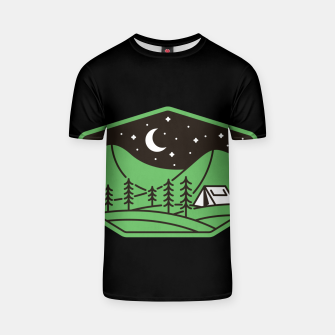 Thumbnail image of Green Camp T-shirt, Live Heroes