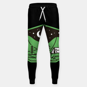 Thumbnail image of Green Camp Sweatpants, Live Heroes