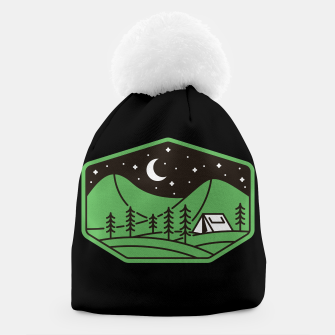 Thumbnail image of Green Camp Beanie, Live Heroes
