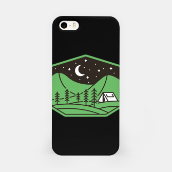Miniatur Green Camp iPhone Case, Live Heroes