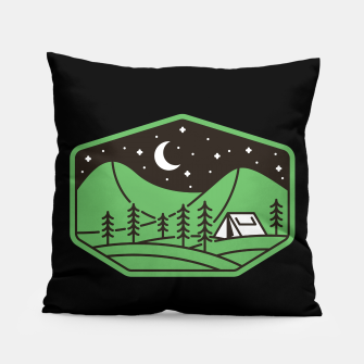 Thumbnail image of Green Camp Pillow, Live Heroes
