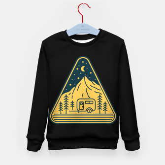 Thumbnail image of Stay and Relax Kid's sweater, Live Heroes