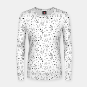 Thumbnail image of Halloween Women sweater, Live Heroes