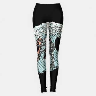 Thumbnail image of Death Surfer Leggings, Live Heroes