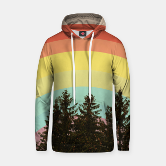 Forest rainbow Hoodie thumbnail image