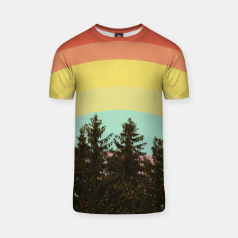 Miniatur Forest rainbow T-shirt, Live Heroes