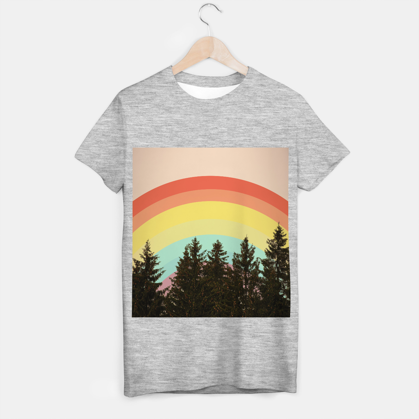 Image of Forest rainbow T-shirt regular - Live Heroes