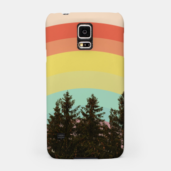 Miniatur Forest rainbow Samsung Case, Live Heroes