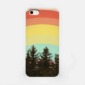 Miniature de image de Forest rainbow iPhone Case, Live Heroes