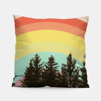 Miniature de image de Forest rainbow Pillow, Live Heroes