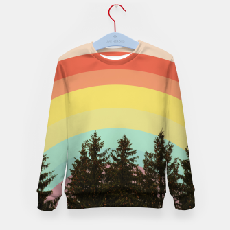 Miniature de image de Forest rainbow Kid's sweater, Live Heroes