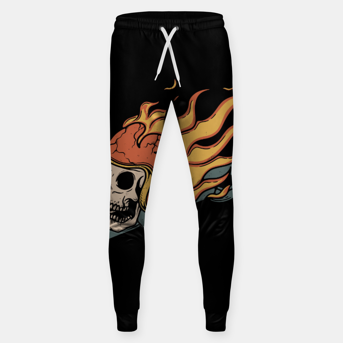 Foto Rider and Fire Sweatpants - Live Heroes