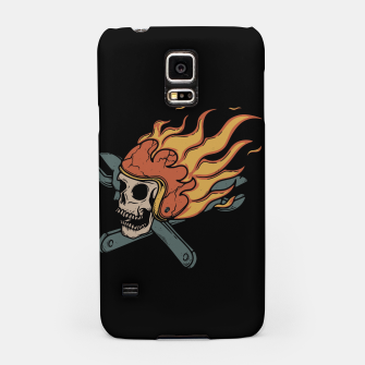 Miniatur Rider and Fire Samsung Case, Live Heroes