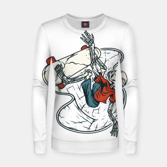 Thumbnail image of Go Skateboarding Women sweater, Live Heroes