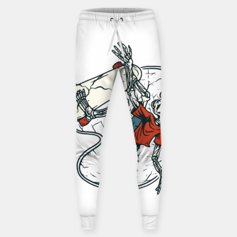 Thumbnail image of Go Skateboarding Sweatpants, Live Heroes