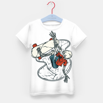 Thumbnail image of Go Skateboarding Kid's t-shirt, Live Heroes
