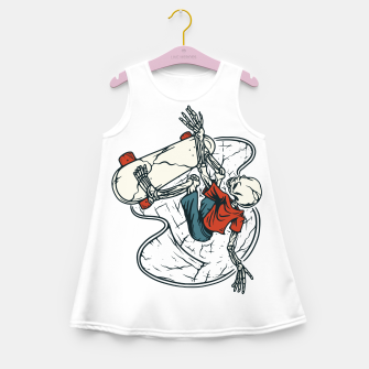 Go Skateboarding Girl's summer dress Bild der Miniatur