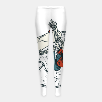 Thumbnail image of Go Skateboarding Girl's leggings, Live Heroes