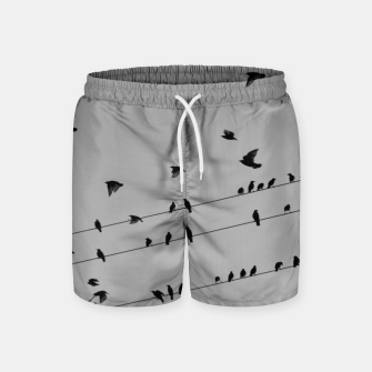 Miniatur Time to fly away Swim Shorts, Live Heroes