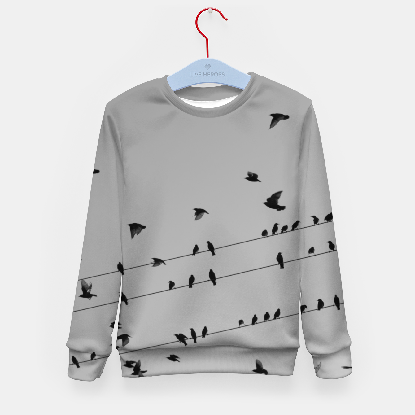Foto Time to fly away Kid's sweater - Live Heroes