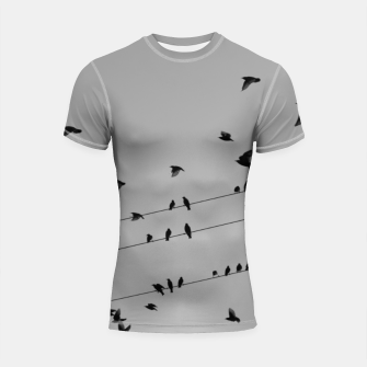 Miniatur Time to fly away Shortsleeve rashguard, Live Heroes