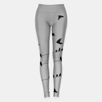 Miniatur Time to fly away Leggings, Live Heroes