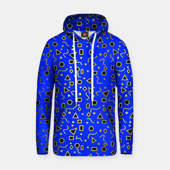 Thumbnail image of Blue And Black Mod Shapes Hoodie, Live Heroes